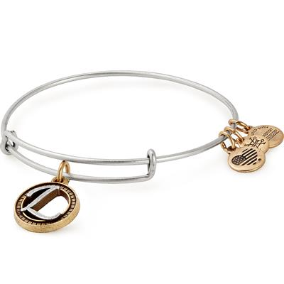 Buy Alex and Ani L Initial Two-Tone Bangle