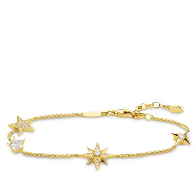Buy Thomas Sabo Four Stars Gold Bracelet