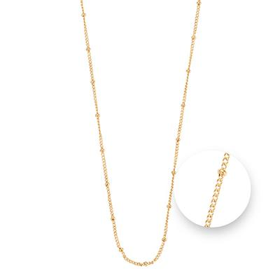 Buy Nikki Lissoni Gold Ball Chain Necklace 75cm