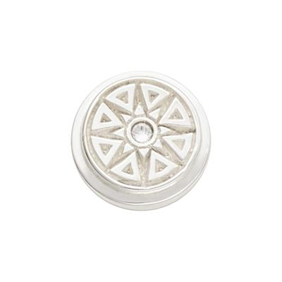 Buy Nikki Lissoni Silver New Star Ring Coin