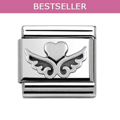 Buy Nomination Heart & Angel Wings Link