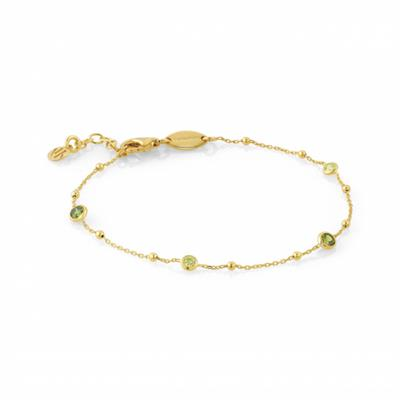 Buy Nomination Gold & Green Bella Bracelet