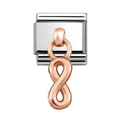 Buy Nomination Infinity Rose Gold Dangle