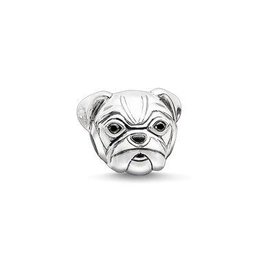 Buy Thomas Sabo Pug Karma Bead in Silver