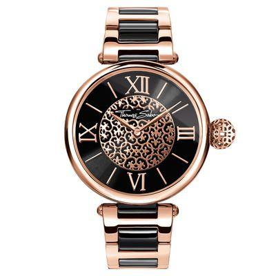 Buy Thomas Sabo Women's Karma Arabesque Rose Watch