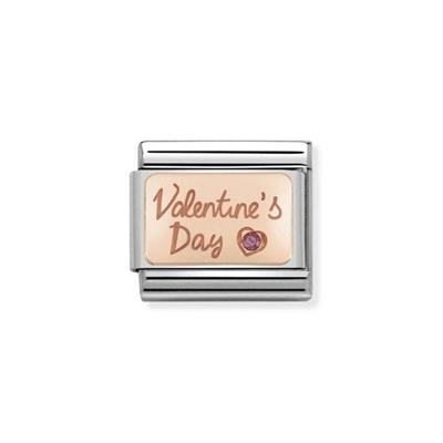 Buy Nomination Rose Gold Valentine's Day Charm