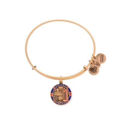 Buy Alex and Ani UK Exclusive, United Kingdom Bangle - Rafaelian Gold