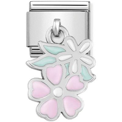 Buy Nomination Hanging Flowers Charm