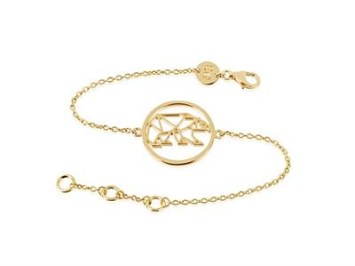 Buy Daisy x Ellie Goulding Polar Bear Bracelet in Gold