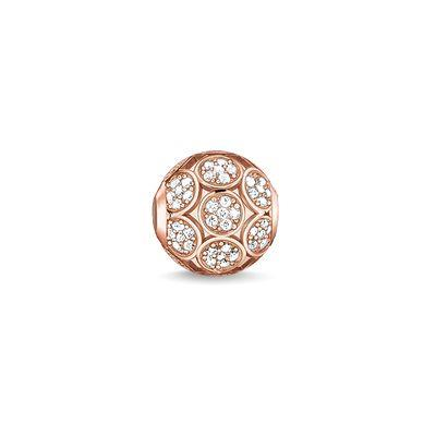 Buy Thomas Sabo Sparkling Circles Rose Gold Karma Bead