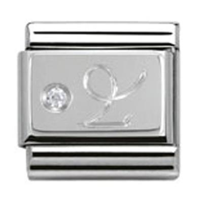 Buy Nomination Silver CZ Capricorn