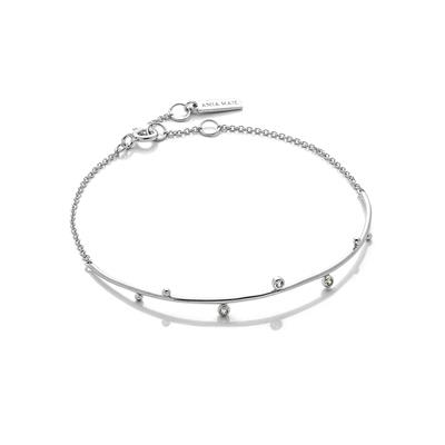 Buy Ania Haie Touch of Sparkle Silver Bracelet