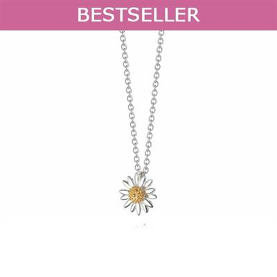 Buy Vintage Daisy 12mm Pendant Necklace
