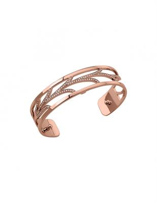 Buy Les Georgettes Slim Rose Gold CZ Courbe Cuff