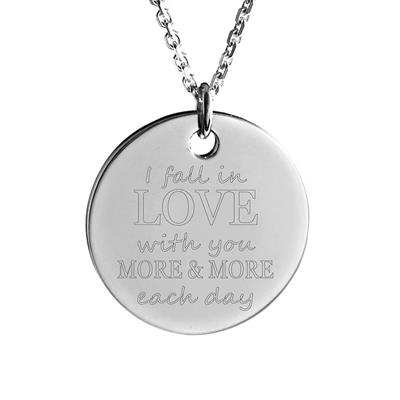 Buy MyMantra I fall in love with you more & more each day