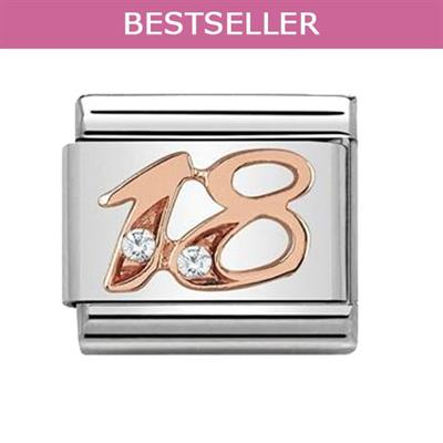 Buy Nomination Rose Gold Number 18