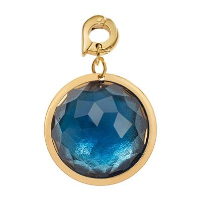 Buy Nikki Lissoni Blue Optical Glass Charm