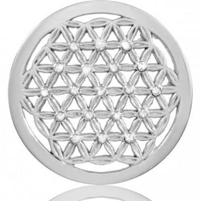 Buy Nikki Lissoni Crystal Maze Silver Coin 33mm