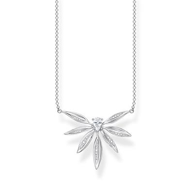 Buy Thomas Sabo Silver Leaves Necklace