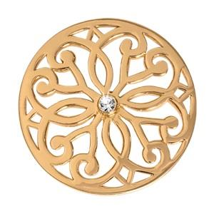 Buy Nikki Lissoni Baroque Fantasy Yellow Gold Coin 33mm