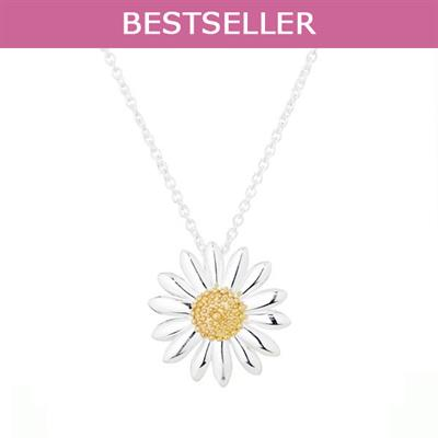 Buy Vintage Daisy 18mm Pendant Necklace