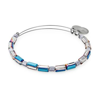 Buy Alex and Ani Silver Metallic Aurora Beaded Bangle