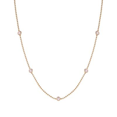 Buy Nomination Bloom Rose Gold and Pink CZ Necklace