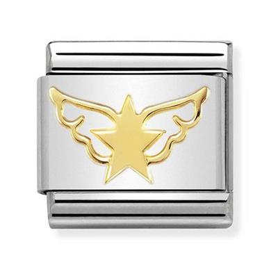 Buy Nomination Gold Angel of Star Charm