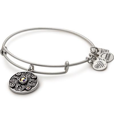 Buy Alex and Ani Wings of Change Transformation Bangle in Rafaelian Silver