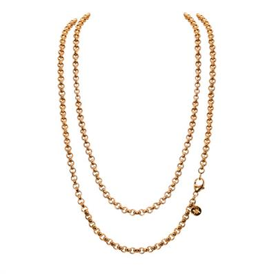Buy Nikki Lissoni Yellow Gold 90cm Chain