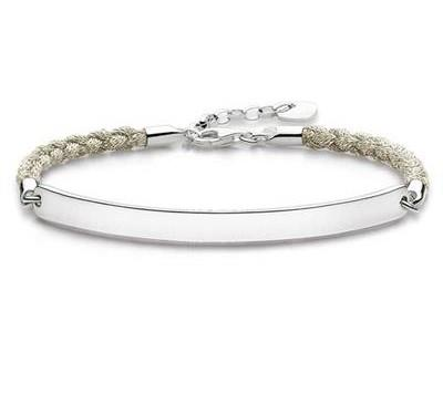 Buy Thomas Sabo Magic Love Bridge Bracelet Beige 18cm