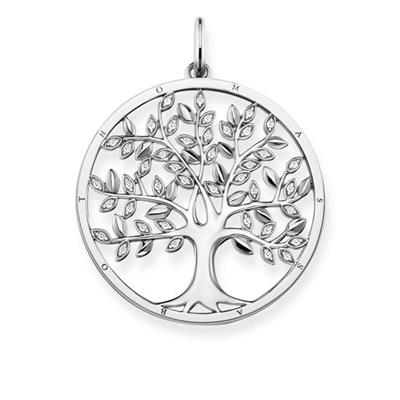 Buy Thomas Sabo Tree of Life Silver Pendant