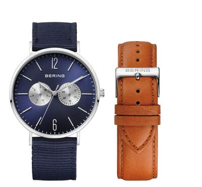Buy Bering Blue Chrono Multi-Way Watch