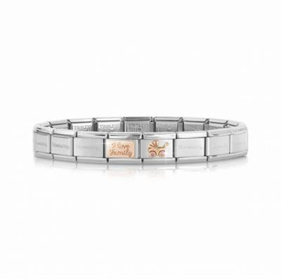 Buy Nomination I Love Family Bracelet