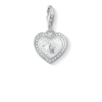 Buy Thomas Sabo CZ Heart Charm