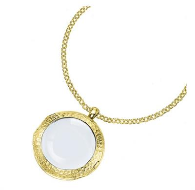Buy Dower and Hall 18ct Gold Vermeil Medium Long Cherish Locket