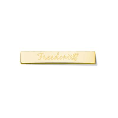 Buy Take What You Need Gold Toned Freedom Bar