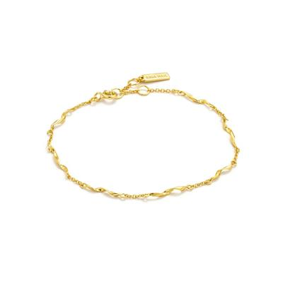 Buy Ania Haie Gold Helix Twist Bracelet