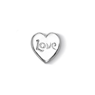 Buy Dower and Hall Silver Love Heart Treasure