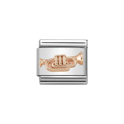 Buy Nomination Rose Gold Trumpet Charrn