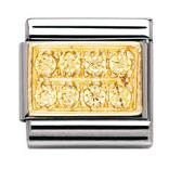 Buy Nomination Pave with Yellow CZ