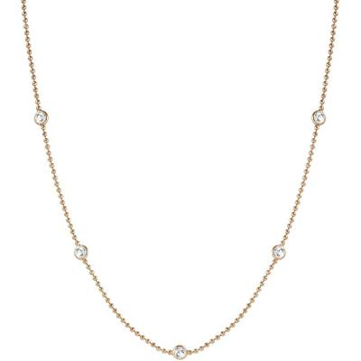 Buy Nomination Bloom Rose Gold and CZ Necklace