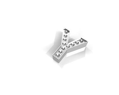 Buy Key Moments Silver Crystal Letter Y