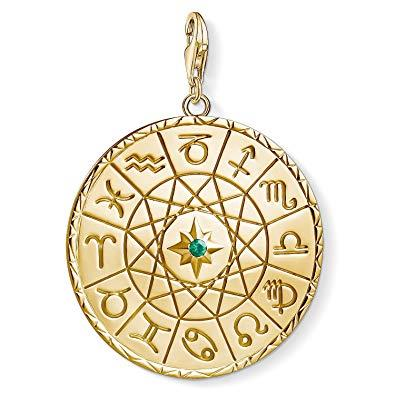 Buy Thomas Sabo Gold Zodiac Coin Charm Pendant