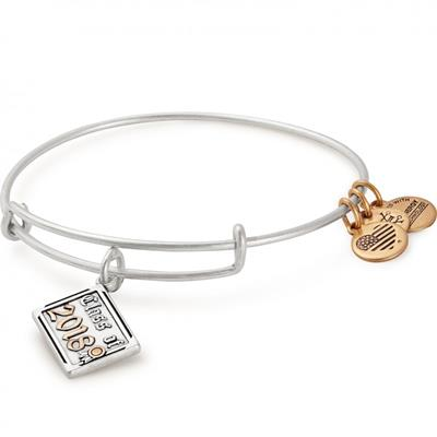 Buy Alex and Ani Class of 2018 Bangle in Rafaelian Silver