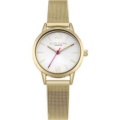Buy Daisy Dixon Gold Kendall Mesh Watch
