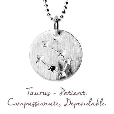 Buy Mantra Taurus Star Map in Silver