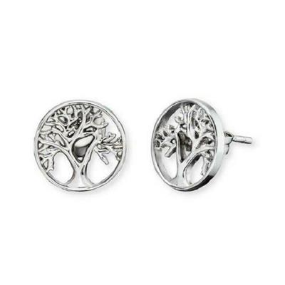 Buy Engelsrufer Silver Tree of Life Studs