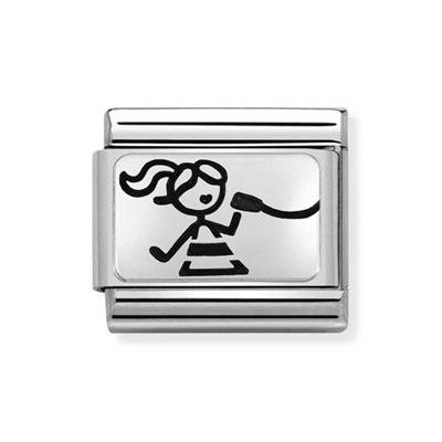 Buy Nomination Girl with Ponytail Friendship Charm