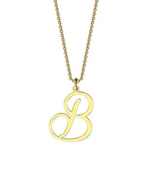 Buy me.mi Initial Pendant in Yellow Gold
